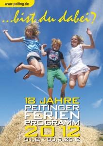 Deckblatt Ferienprogramm 2012 Markt Peiting