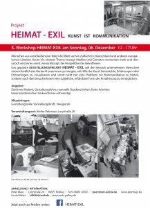 Workshop Heimat-Exil