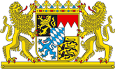 Bayerisches Staatswappen klein