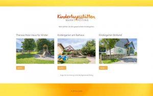 Homepage gemeindliche Kindergärten